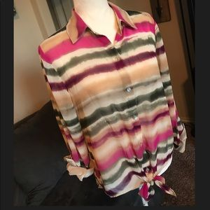 Chico's Colorful Blouse